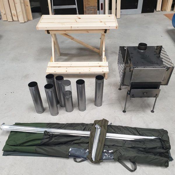 kit pour tente sauna loyly sauna france